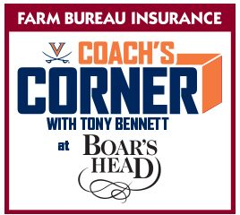 Coach's Corner With Tony Bennett Logo