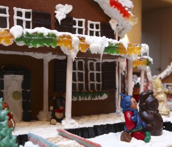 Boar's Head Gingerbread House Workshop