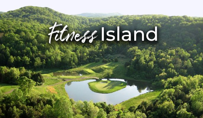 fitness island graphic